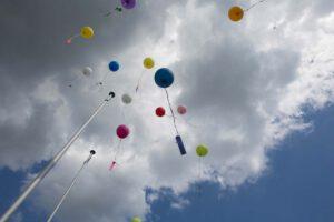 Hochzeitsfotograf Luftballonstart